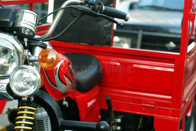 Caminhão do velomotor imagem de stock royalty free