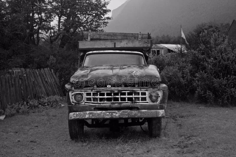 Caminhão envelhecido foto de stock