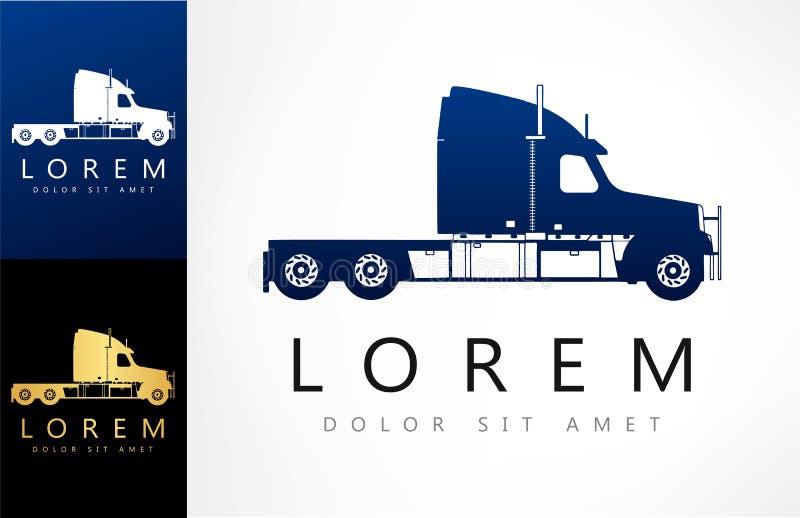 Caminhão Logo Vetora ilustração do vetor