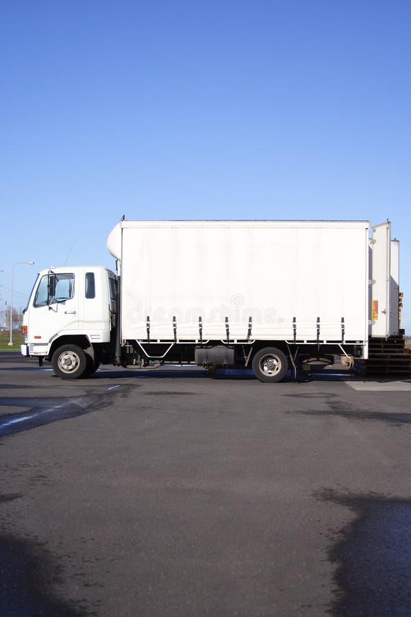 Caminhão pequeno imagens de stock