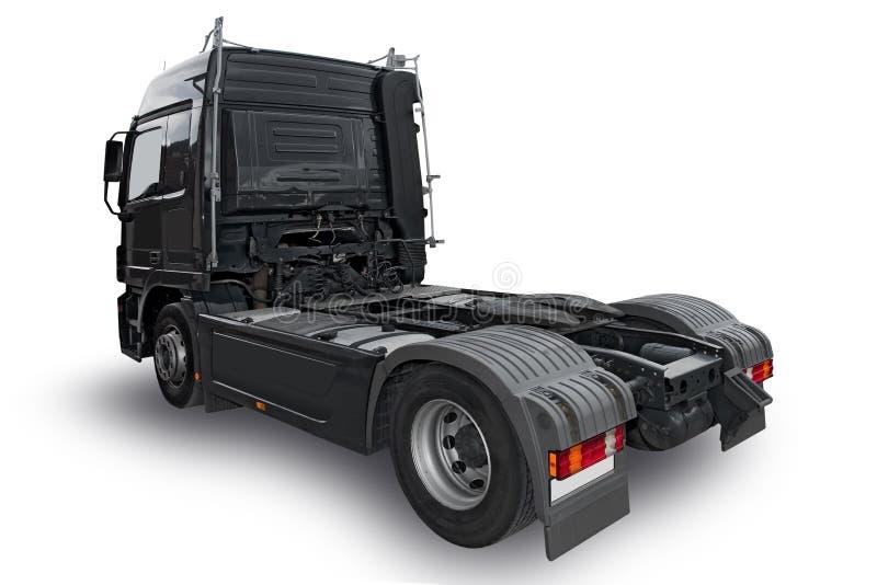 Caminhão preto foto de stock