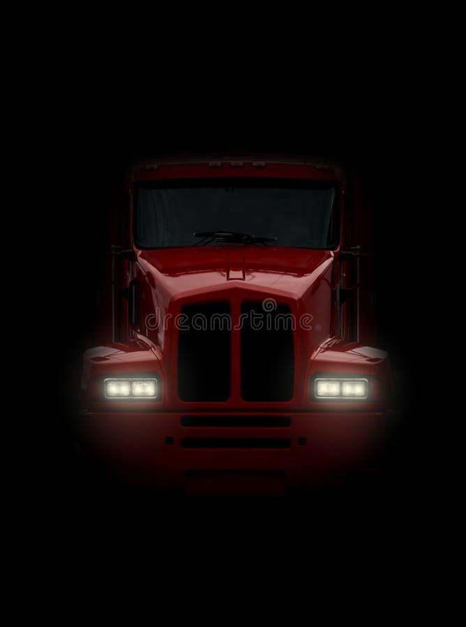 Caminhão que vem de frente fotos de stock royalty free