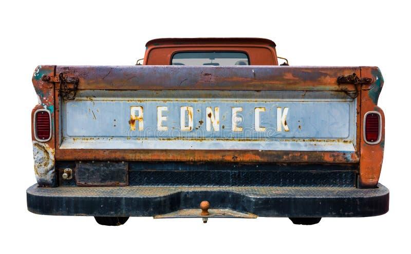 Caminhão retro do campônio foto de stock