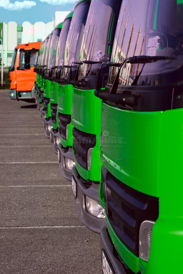 Caminhões 3 foto de stock royalty free