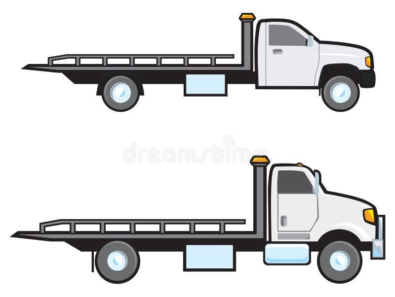 Caminhões de reboque ilustração royalty free