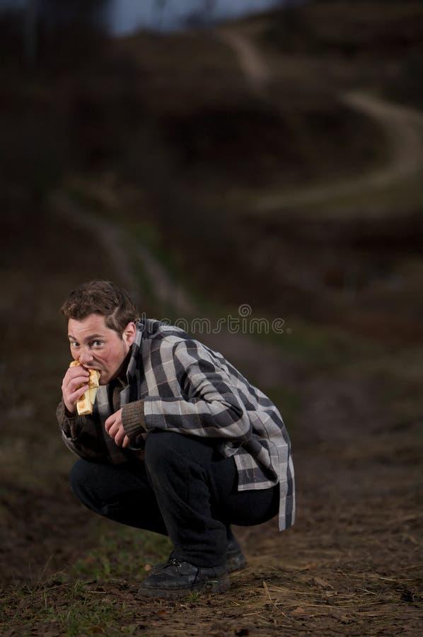 Caminhada com fome fotos de stock
