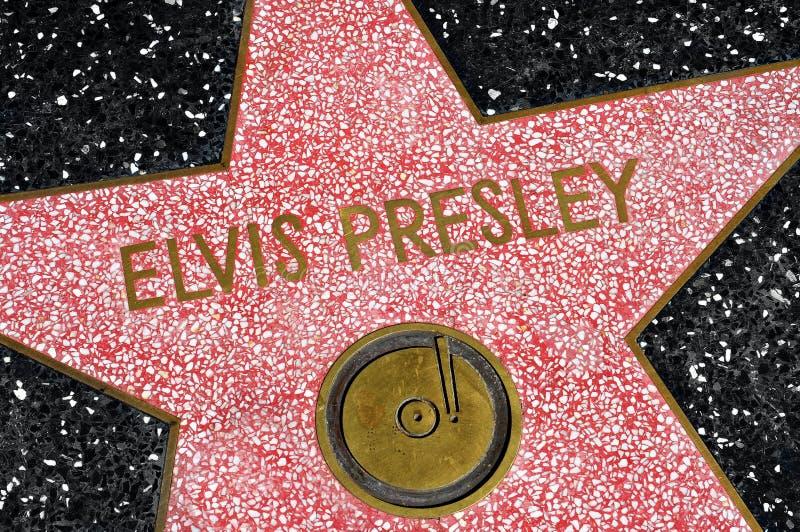 Caminhada da fama, Los Angeles de Hollywood, Estados Unidos foto de stock royalty free