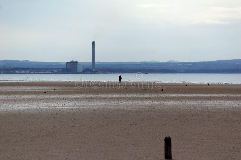 Caminhada da praia imagens de stock