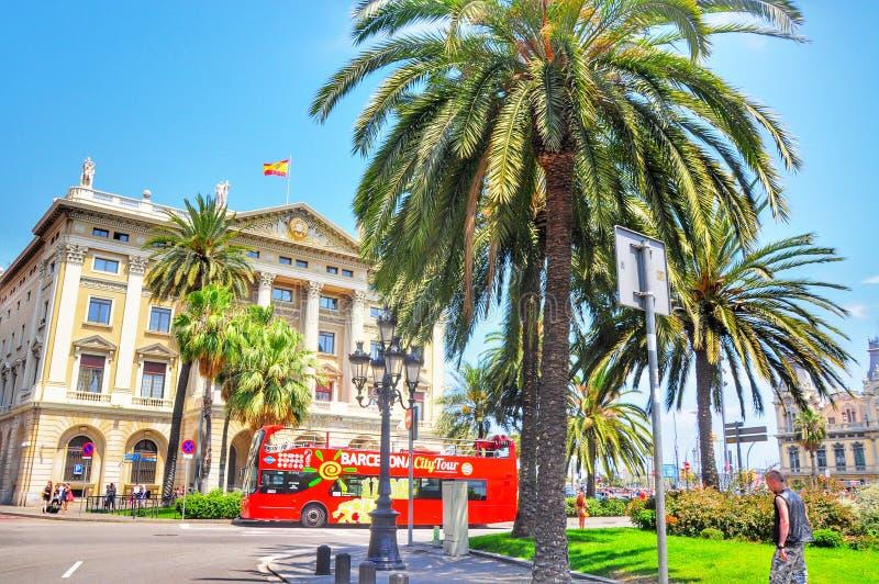 Caminhada de Barcelona imagem de stock