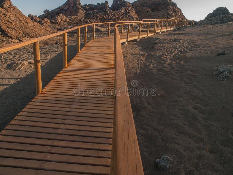 Caminhada de Bartolome imagem de stock royalty free