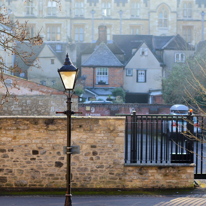 Caminhada de Jowett, Oxford, Reino Unido, o 22 de janeiro de 2017: Vitoriano fotos de stock royalty free