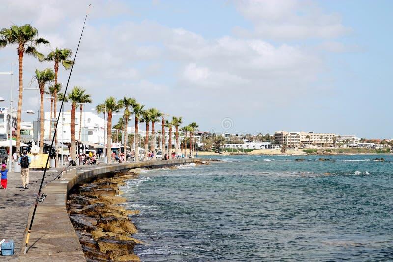 Caminhada de Paphos foto de stock royalty free