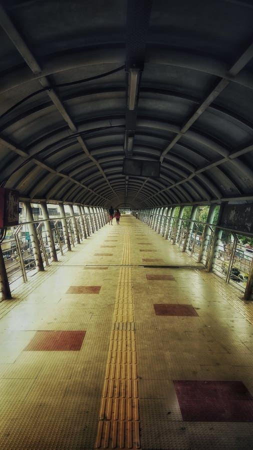 Caminhada do céu de Mumbai foto de stock royalty free