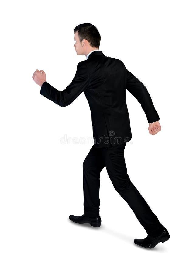 Caminhada do homem de negócio afastado imagem de stock royalty free