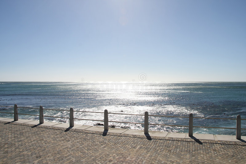 Caminhada do oceano imagens de stock royalty free