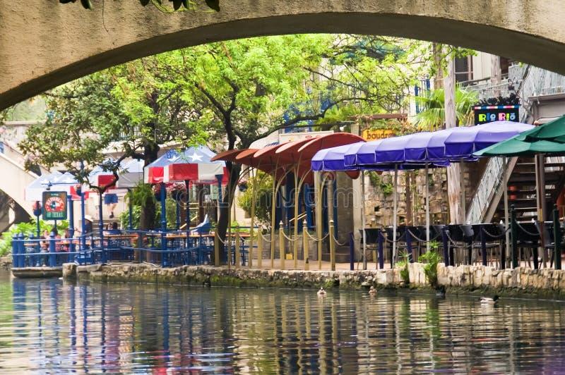 Caminhada do rio de San Antonio do Th. foto de stock royalty free