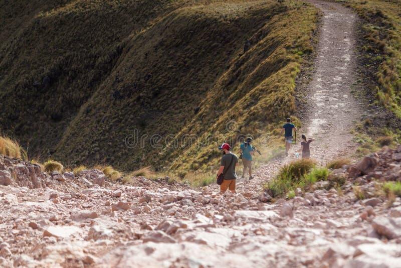 Caminhada em Costa Rica fotos de stock