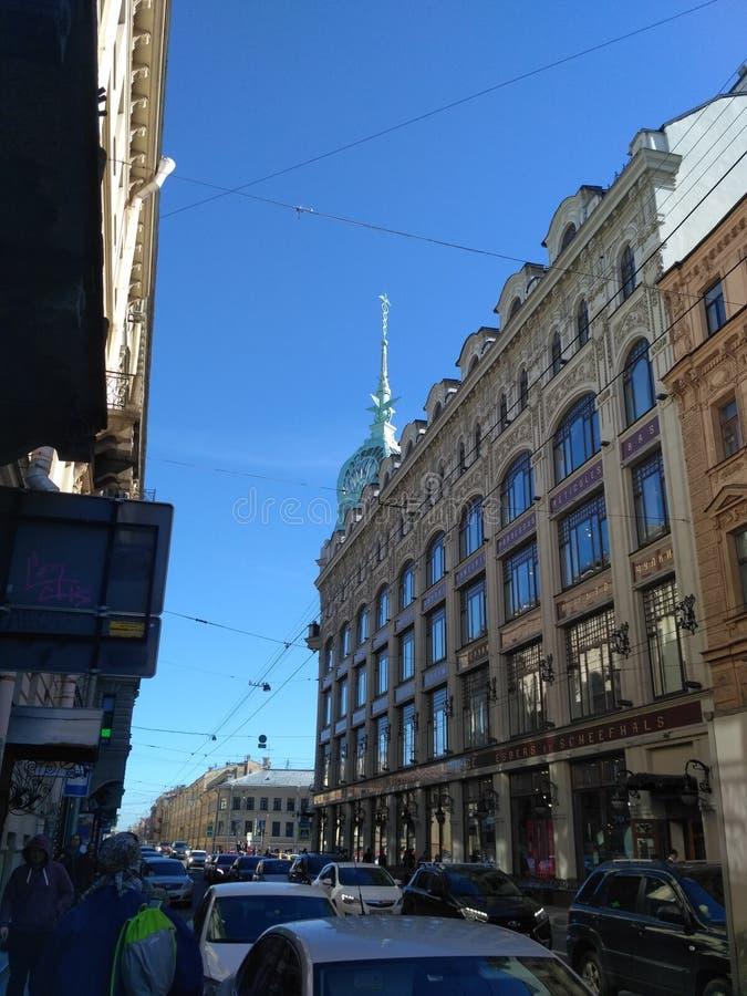 Caminhada em torno da cidade fotos de stock