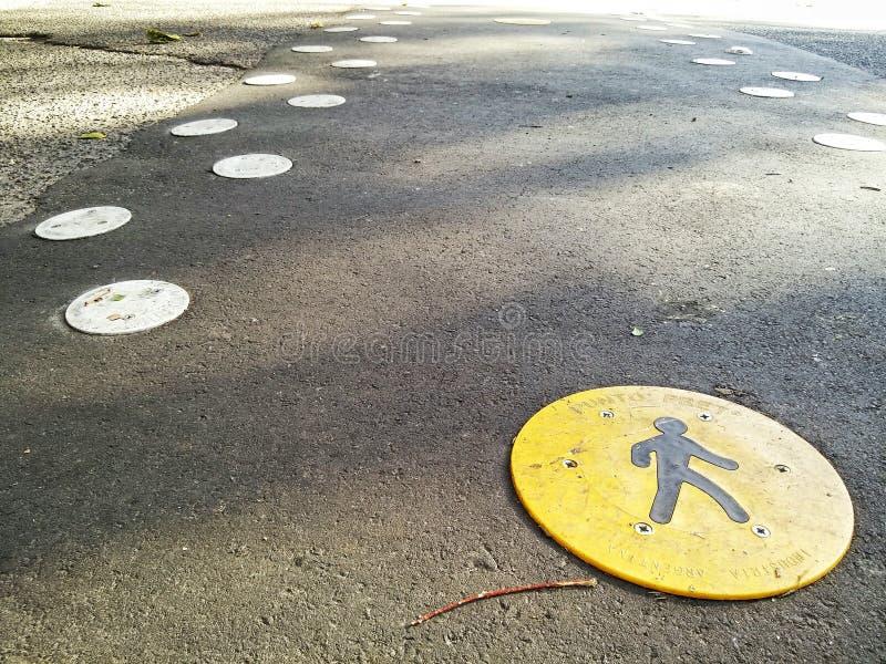 Caminhada pedestre imagem de stock