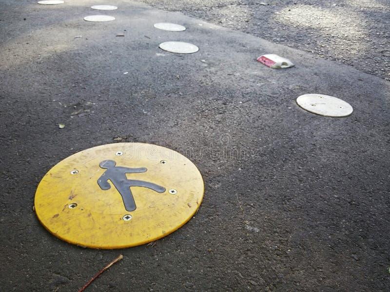 Caminhada pedestre fotografia de stock royalty free