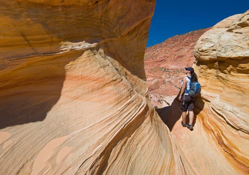 Caminhando Buttes do chacal fotografia de stock royalty free