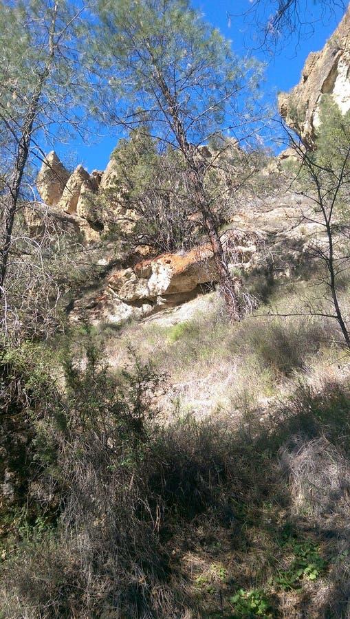 Caminhando Diamond Mines preto foto de stock