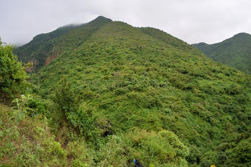 Caminhando os montes de Kijabe, Kenya imagens de stock royalty free