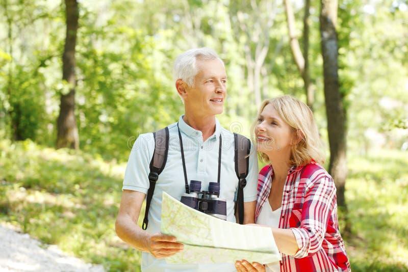 Caminhando pares superiores fotos de stock royalty free