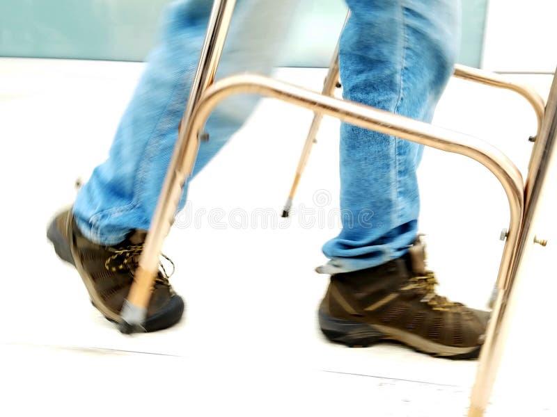 Caminhante no movimento - imobilidade fotos de stock royalty free