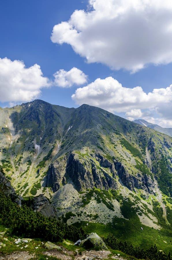 Caminhe à montanha de Predne Solisko, Tatra alto, Eslováquia fotos de stock