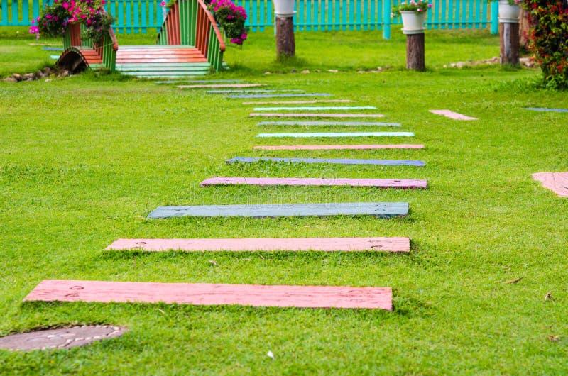 Caminho do jardim imagens de stock