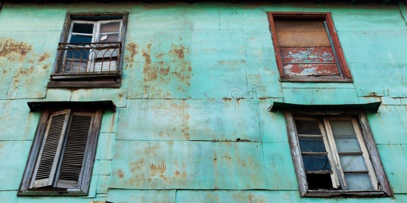 Caminito街在拉博卡,布宜诺斯艾利斯 图库摄影
