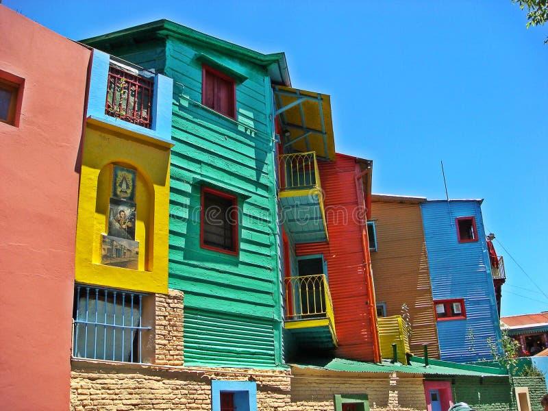 Caminito, Buenos Aires fotografía de archivo libre de regalías