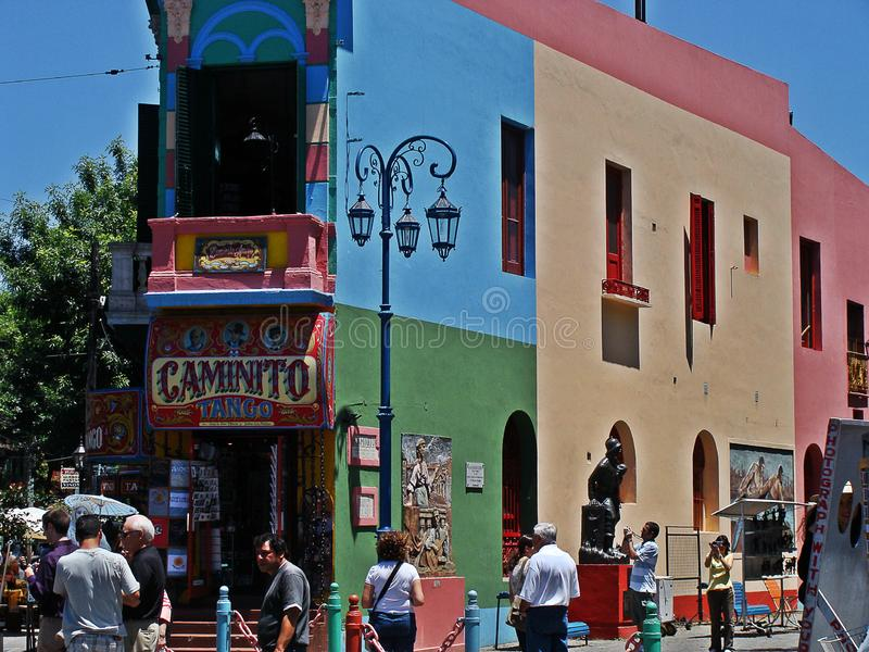Caminito, Buenos Aires imágenes de archivo libres de regalías