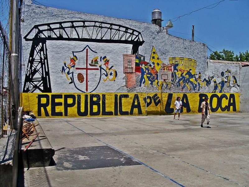 Caminito, Buenos Aires foto de archivo libre de regalías