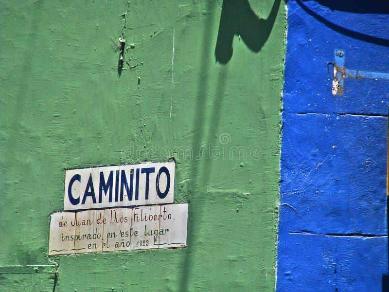 Caminito, Buenos Aires fotos de archivo libres de regalías