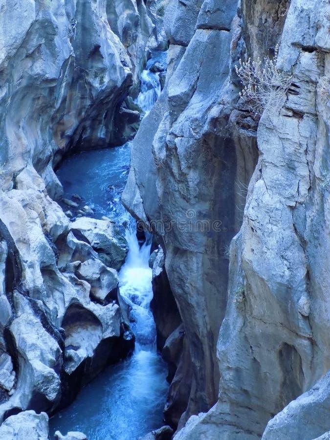 Caminito del Rey Andalusia royalty-vrije stock foto