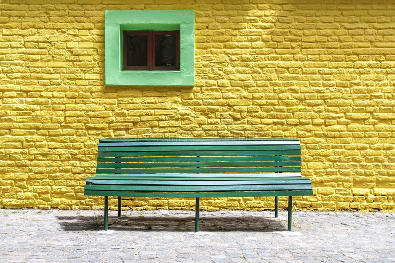 The magic colors of Caminito. Caminito Street, in La Boca, Caminito is one of the most visited tourist attractions in Buenos Aires. Argentina stock photography