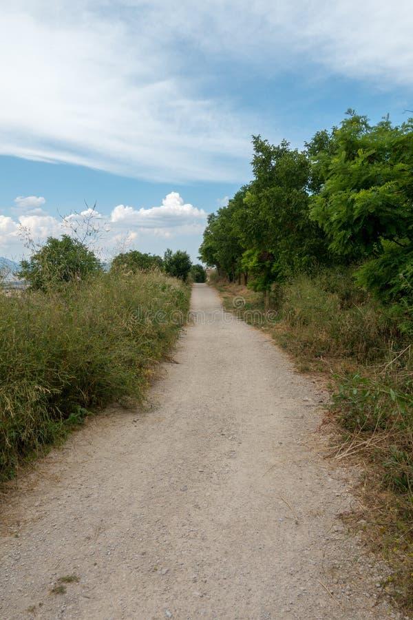 Camino圣地亚哥在高度饶恕 免版税库存照片