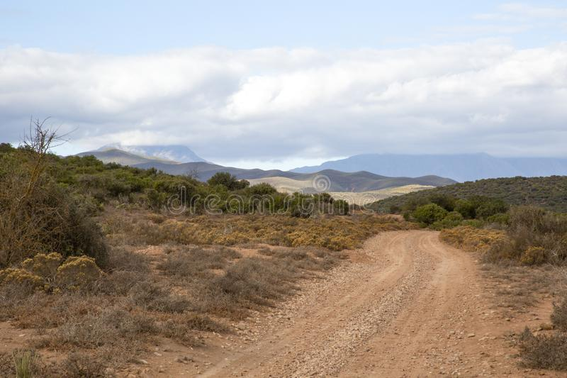 Camino África imagen de archivo
