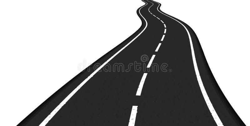 Camino stock de ilustración