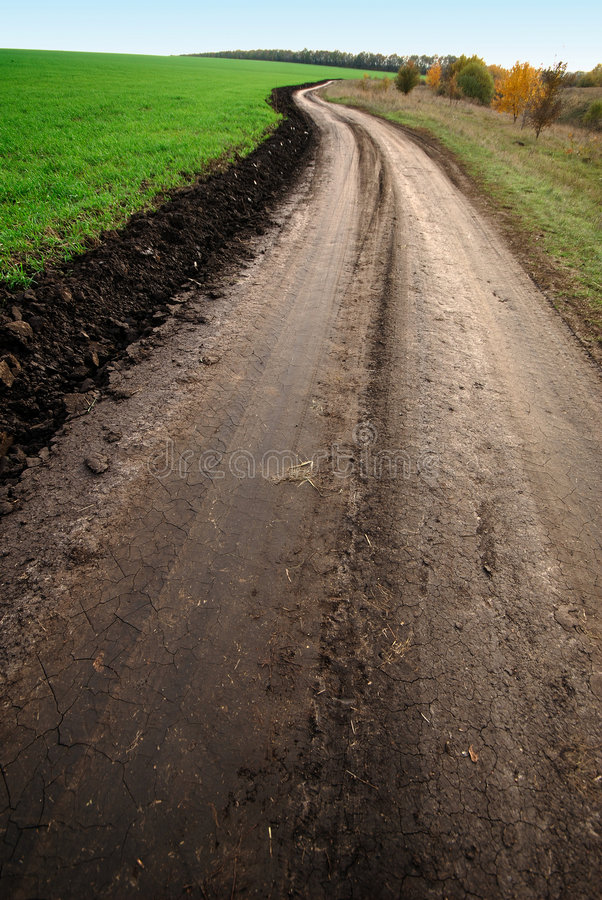 Download Camino imagen de archivo. Imagen de marrón, tierra, campo - 7283673
