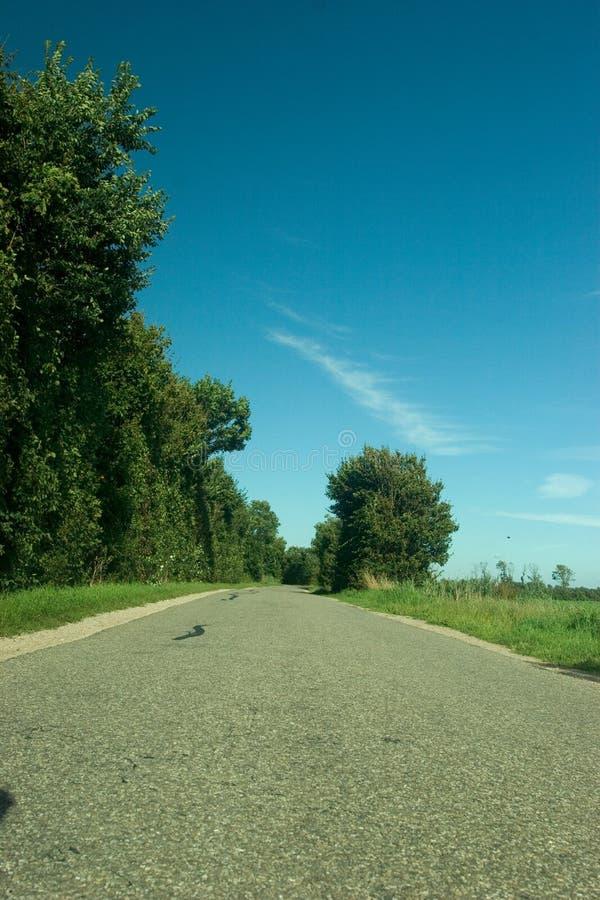 Camino abandonado fotografía de archivo
