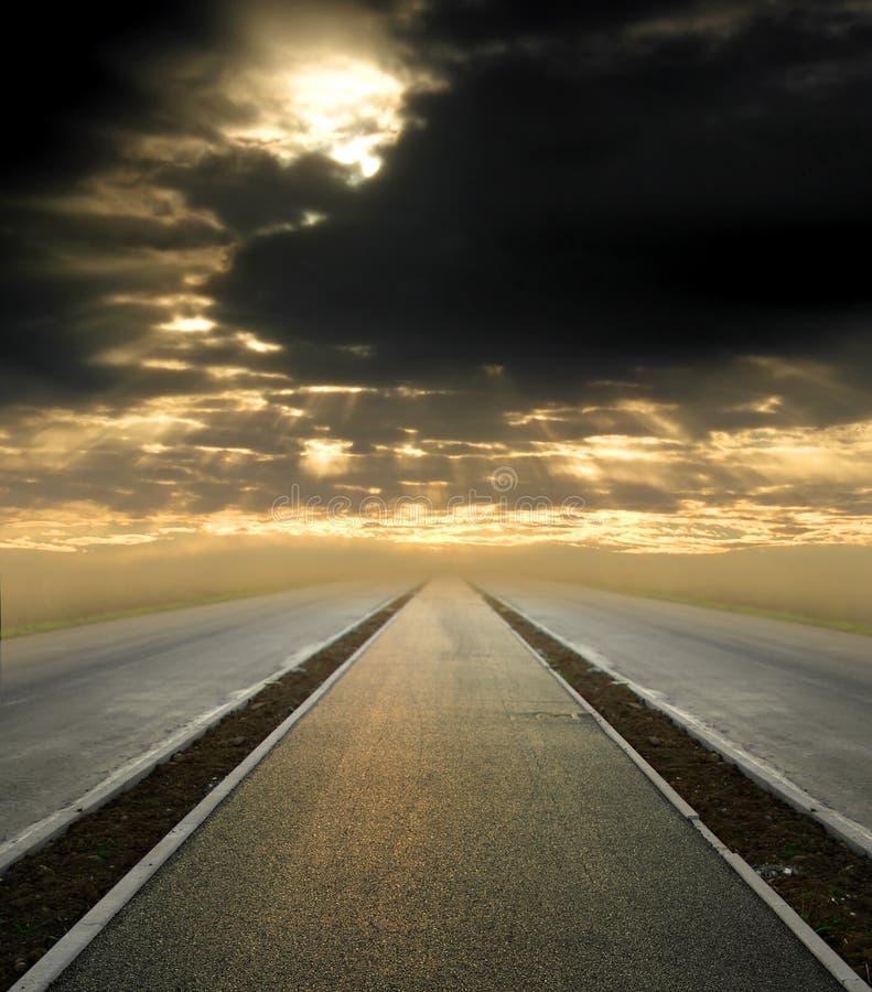 Camino al cielo foto de archivo libre de regalías