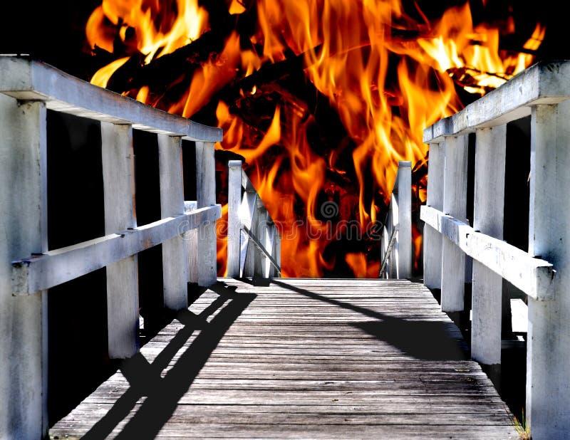 Camino al infierno fotos de archivo libres de regalías