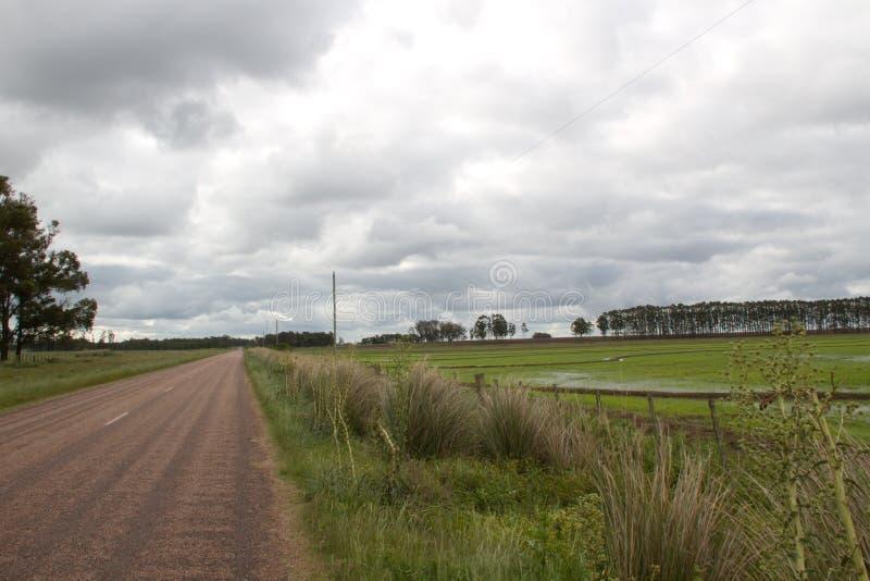 Camino 17 al La Charqueada imagen de archivo libre de regalías