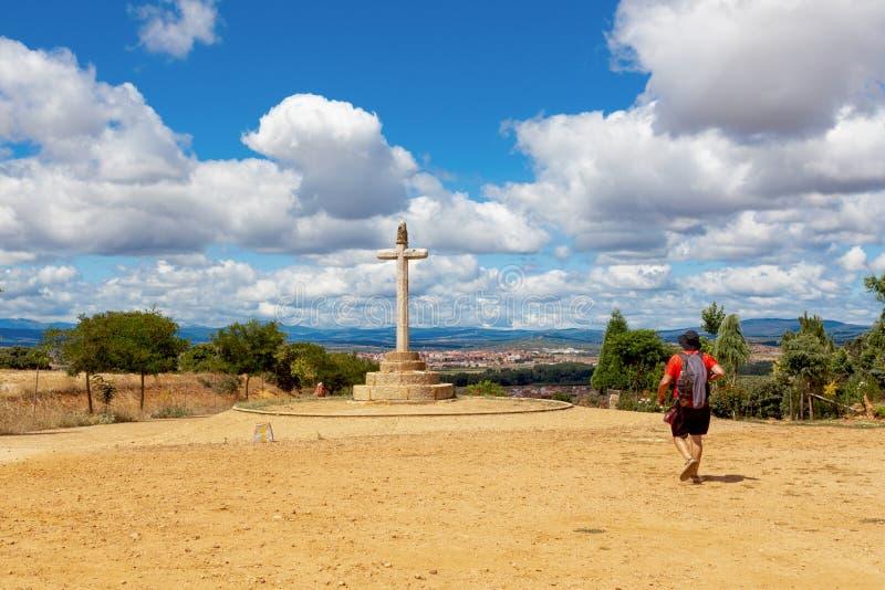 CAMINO DE圣地亚哥,西班牙- SANTO TORIBIO 库存照片