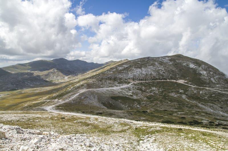 Camino de Ðœountain fotografía de archivo libre de regalías