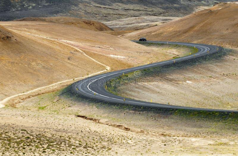 Camino de anillo, Islandia fotografía de archivo