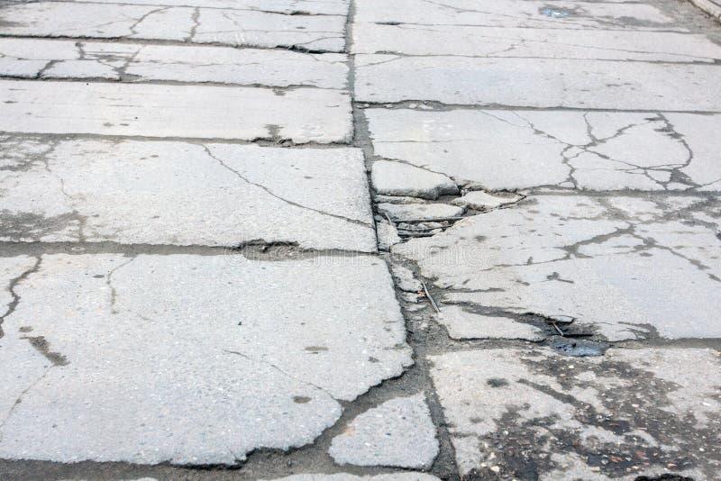 Camino de bloques de cemento imágenes de archivo libres de regalías